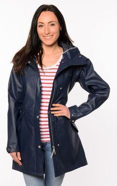 Raincoats For Women Weather Refferal: 8057132042 Pink Raincoat, Raincoat Jacket, Rain Jacket, Bomber Jacket, Raincoats For Women, Jackets For Women, Rainy Day Fashion, Blue Coats, Rain Wear