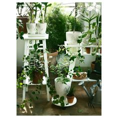 Ikea - lantliv plant stand white natural home decor, white plants, green pl Hanging Plants, Indoor Plants, Ikea Garden Furniture, Ikea Plants, Pot Plante, White Plants, Natural Home Decor, Diy Planters, Planter Ideas
