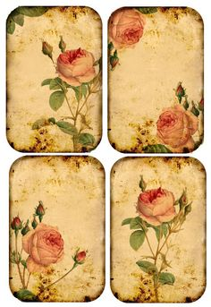 Changing The Look Of Your Home With Vintage Posters - Popular Vintage Vintage Tags, Papel Vintage, Decoupage Vintage, Decoupage Paper, Vintage Diy, Vintage Labels, Vintage Ephemera, Vintage Paper, Vintage Flowers