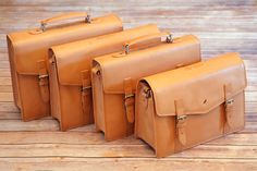 natural vegetable tanned Satchels and Briefcases only available direct from www.rufuscountry.uk