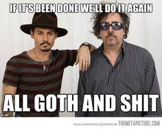 The collaborative philosophy of Johnny Depp and Tim Burton