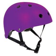 SFR Skate/Scooter/BMX Helmet - Matt Fluo Purple