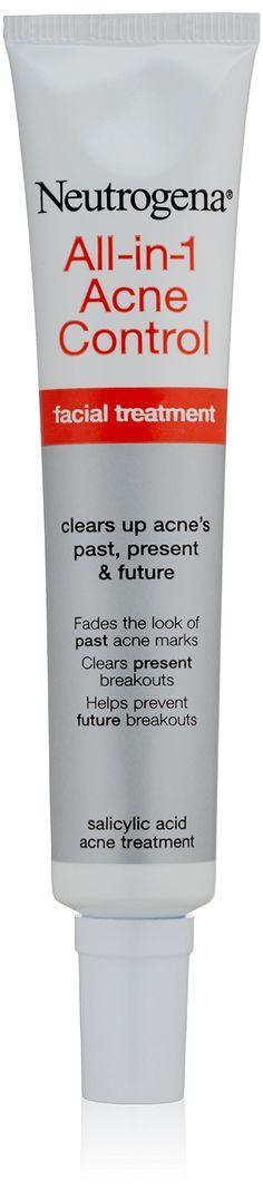 Neutrogena All-in-1 Acne Control Treatment, 1 Ounce
