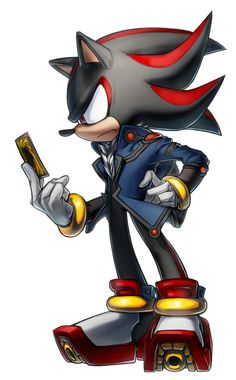 This is so awesome!.... ;A; Sonic The Hedgehog Fudo Shadow(?) by inualet.deviantart.com on @deviantART