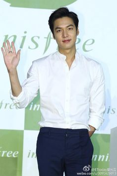 Lee Min Ho and he is wearing pink lipstick