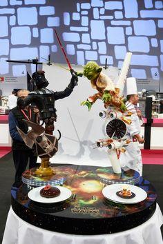 Coupe du Monde de la Pâtisserie 2015 - Day 2 Sugar Art, Sugar Sugar, Chocolate Showpiece, Chocolate Work, Cupcake Cookies, Cupcakes, Sugar Bread, Creative Food Art, Food Sculpture