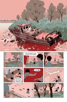 tropical toxic: The Dirties :: the full comics