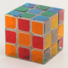ZCUBE Transparent 3x3x3 Magic Cube Brain Teaser Speed Cube Puzzle Toy  Price: 9.99 & FREE Shipping #computers #shopping #electronics #home #garden #LED #mobiles #rc #security #toys #bargain #coolstuff |#headphones #bluetooth #gifts #xmas #happybirthday #fun