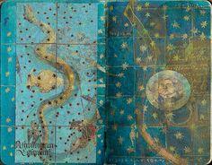 Caderno das estrelas 21/ Star book serie nº2 Cielos de Salamanca (Fresco en la cámara acorazada en Old Library, alrededor del año 1473)
