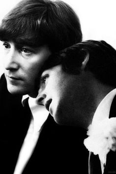 John & Paul, probably my favorite songwriters.  Ever.