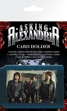 Asking Alexandria - Band - Card Holder