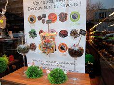 Décoratrice étalagiste Paris : Vitrine ouverture magasin