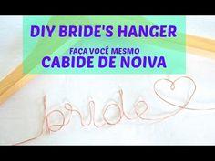 DIY Bride´s Hanger :: Faça você mesma: Cabide noiva