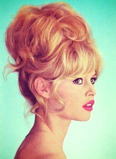 bridget bardot // iconic hairstyle // updo hair // fashion icon // style idol // iconic women // 1960s // 60s