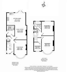 Image result for 3 bed semi extension floor plans