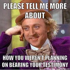 Is there anything better than funny Mormon memes? If a picture is worth a thousands words, how much is a meme worth? Try not to roll on the floor!