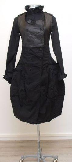 rundholz dip - Trägerkleid Ballon black paint - Winter 2015 - stilecht - mode für frauen mit format...