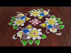 Easy chukkala muggulu Easy rangoli Simple rangoli Thanks for watching 🙏🙏 Please like share comment below for more v. Rangoli Kolam Designs, Rangoli Designs With Dots, Beautiful Rangoli Designs, Indian Rangoli, Simple Rangoli, Malu, Friday, Make It Yourself, Youtube