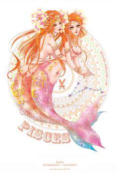 Pisces by Estheryu on DeviantArt