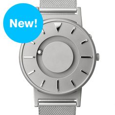 The Bradley (stainless steel) watch by Eone. Available at Dezeen Watch Store: www.dezeenwatchstore.com