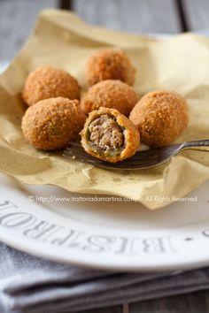La ricetta di queste olive all'ascolana è una vera garanzia perché è la ricetta originale del ristorante Vittoria di Ascoli Piceno