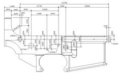 Dpms 308 blueprints for 308 80 lower receiver builds httpswww m 16 lower receiver blueprint have never actually seen a copy of the little black lower print malvernweather Image collections