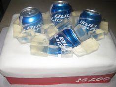 Beer Cooler Cake
