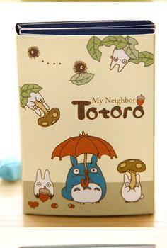 Kawaii Sticky Folding Memo Set - Totoro