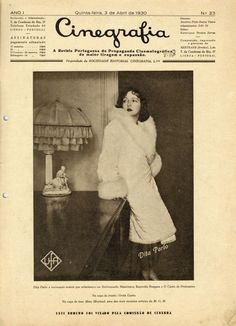 Dita Parlo - Revista Cinegrafia - 1930