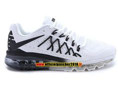 differently 356c5 d4bad Nike Air Max 2015 Chaussures Nike Running 2016 Pas Cher Pour Homme Noir    Blanc