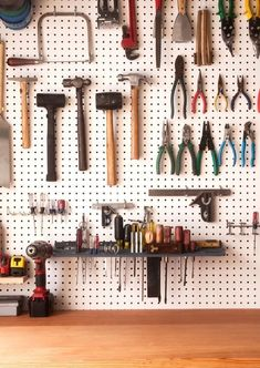 How to: Make the Ultimate Workbench for Your Basement or Garage