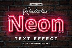 Ad: Realistic Neon Photoshop Effect by Designdell on Make your own realistic neon Photoshop text effect using smart layers. - Editable text using smart layer - Easily change color - Includes Photoshop For Photographers, Photoshop Tutorial, Photoshop Actions, Neon Photography, Photoshop Photography, Texture Web, Photoshop Text Effects, Design Typography, Layer Style