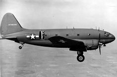 "Curtiss C-46 Commando. US transport aircraft. AKA:""The Whale,"" the ""Curtiss Calamity,""& ""Plumber's nightmare"" - via PJ de Jong"