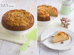 Receta de tarta rosa de manzana