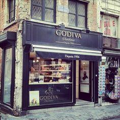 Godiva chocolates.