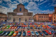Bologna and Lamborgini show...❄