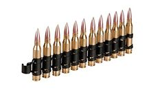 AC334 DUMMY M249 556 CAL CARTRIDGE BELT 12 x SHELLS -- Read more reviews of the product by visiting the link on the image.