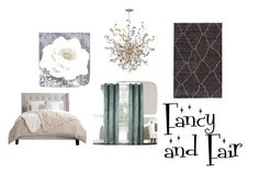 """""""Fancy and fair"""" by submissive-bookworm on Polyvore featuring interior, interiors, interior design, home, home decor, interior decorating, Corbett Lighting, Graham & Brown and Jaipur"""