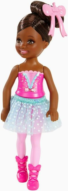 Barbie Chelsea Doll-Ballerina  out in 2015