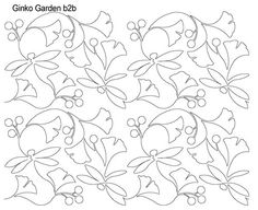 AnneBright.com - Shop | Category: Digitized Designs | Product: Ginko Garden b2b