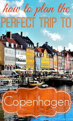 Copenhagen, Denmark has been identified as the happiest city in the world several years in a row! If you want to travel to a beautiful city with amazing food, culture and people, check out Copenhagen!