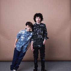 Noah Schnapp & Finn Wolfhard