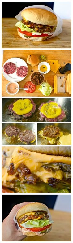 Homemade Mc Donald's Old-School Cheeseburger Recipe