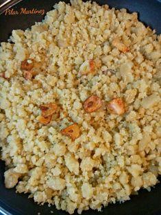 Migas de harina en 20 minutos. Snack Recipes, Snacks, Popcorn, Food, Microwaves, Gourmet, One Pot Dinners, Kitchens, Snack Mix Recipes