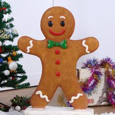 Gingerbread Train, Gingerbread Decorations, Gingerbread Ornaments, Christmas Gingerbread, Gingerbread Cookies, Gingerbread Houses, Christmas Decorations Sale, Decorating With Christmas Lights, Christmas Crafts