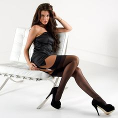 Nylonica Linea Classica Sheer 15 Plus Size stockings at Stockings HQ