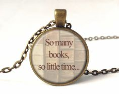 QUOTE Necklace, Quote Pendant, 0223PB from EgginEgg by DaWanda.com