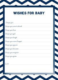 Free The Diva: FREEBIE OF THE WEEK: Blue & White Chevron Pattern Wishes For…