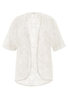 plus size lace cardigan with crocheted hem (original price, $36) available at #Maurices