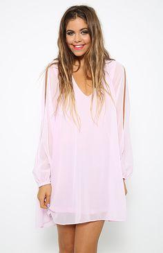 Isolde Dress - Lilac